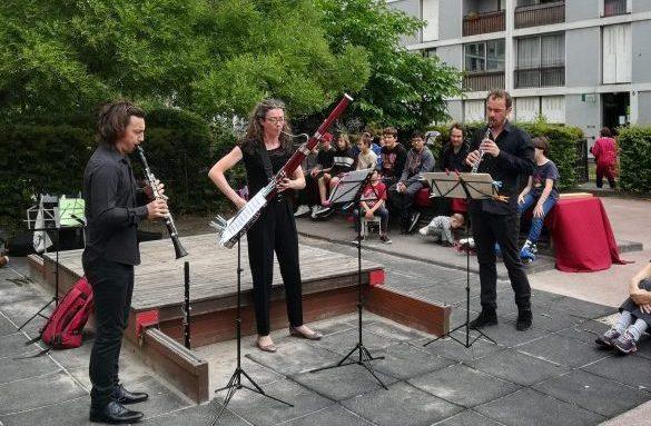 Mini-concert en trio d'anches (Paris 20°)